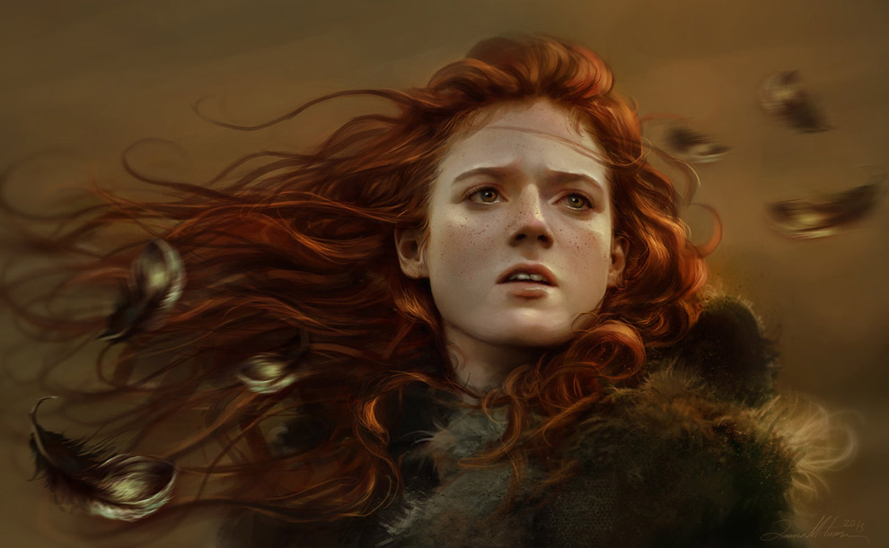 Realismo........... Ygritte-game-of-thrones-fan-art